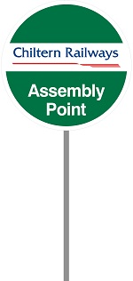 Assembly Point Sign Chiltern