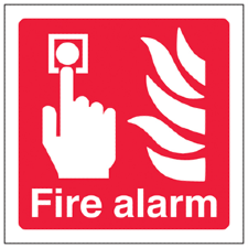 Fire Equipment Signs - Red Box Fire Control