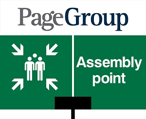 Page Group Assembly Point Sign