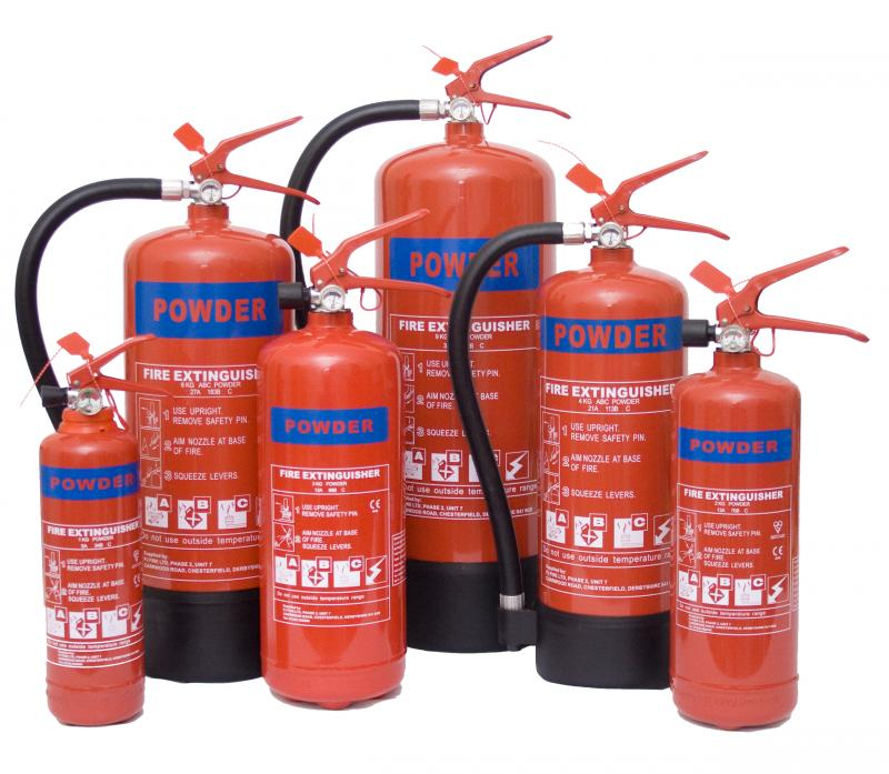Powder Fire Extinguishers | Red Box Fire Control