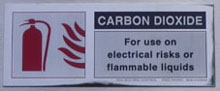 Safety Sign CO2
